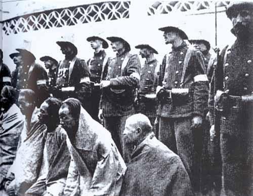 清兵回忆:经常有义和团的人找到军营,让清兵对着自己的肚子开枪